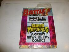 BATTLE with STORM FORCE Comic - Date 24/10/1987  Inc FREE Naturals Comic & Cover