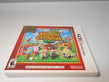 Animal Crossing: New Leaf Nintendo Selects (Nintendo 3DS) w/case & manual 2ds xl