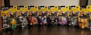 Heroes of Goo Jit Zu Minis DC Figures FULL SET 8/8 RARE + ULTRA RARE NEW!!