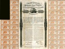 Confederate Cotton Loan Bond signed by John Slidell - 1000