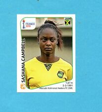 WOMEN'S WORLD CUP FRANCE 2019-PANINI-Figurina n.242- CAMPBELL -JAMAICA-NEW