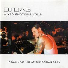 DJ Dag mixed Emotions vol. 2-RARE CD COME NUOVO LIVE Dorian Gray trance-tbfwm