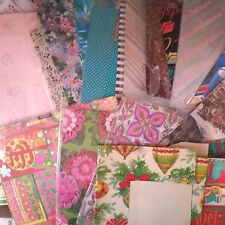 MCM Mixed Lot Vintage Wrapping Paper Graduation Christmas