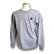 Cummins dodge diesel gray long sleeve t shirt top NEW tee apparel truck 2XL