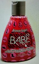 Brown Sugar Babe Hot Tingle 50x Bronzer Level 6 Tanning Lotion +FREE PKT