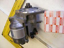 Genuine Isuzu Starter motor 8970489663 3LA1 3LB1 3LD1 3LD2 Quality Used £140+vat