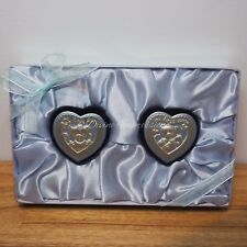 My First Curl & My First Tooth Boxes Heart Keepsake Baby Set - Boy Blue