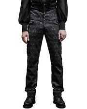Pantaloni da uomo neri regolare classico