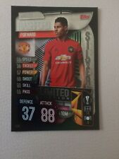 MATCH ATTAX 2019/20 LIMITED EDITION MARCUS RASHFORD MANCHESTER UNITED SILVER