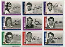 2009-10 ITG 1972 The Year In Hockey Autographs  #AGD Gerry Desjardins