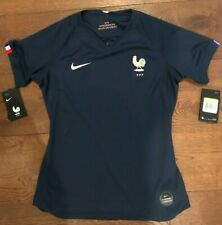 AUTHENTIC 2018 FRANCE WORLD CUP NIKE FOOTBALL SHIRT SOCCER JERSEY WOMEN $105 S