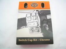 Chrome Switch Cap Kit 71500228 '16-later Harley FLHTK FLHTKL Ultra Limited & Low