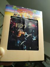 """Kiss """"Alive!"""" 8-Track Tape with sleeve. Simmons Stanley Casablanca Strutter She"""