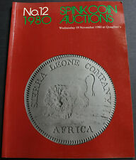 British Colonial & Other British Coins + much more Spink Coin Auctions 1980