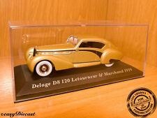 DELAGE D8-120 D-8 120 LETOURNEUR&MARCHAND 1939 1:43