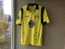 Asics Australian Cricket Jersey L Shirt Home Camiseta