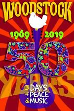 WOODSTOCK - 50TH ANNIVERSARY - POSTER 24x36 - RED 36598