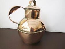 19th CENTURY Guernesey bricco latte in rame con medaglione in faccia