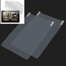 """2Pellicole per 10,1"""" Tablet PC Android Proteggi Schermo Plastica Trasparente"""