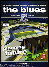 2006/07 SOUTHEND UNITED V COVENTRY CITY 13-10-2006 Championship