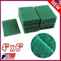 Lot 40pcs Scouring Pads Medium Duty Home Kitchen Auto Scour Scrub Cleaning Pad P