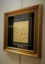 Salvador Dali, Self-Portrait, Bas-Relief, 25x29cm, Opera Signed Copyright test