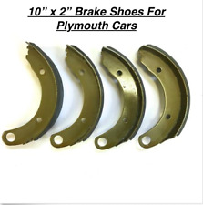"Fresh Brake Shoes for 1946, 1947, 1948  Plymouth Sedan, 10"" x 2"", BRAND NEW!"