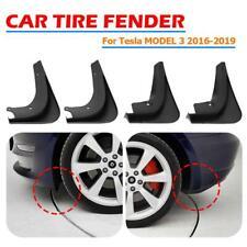 2019 Car Mud Flaps Splash Guard Fender Mudguard For Tesla Model 3 + Fixing #H4