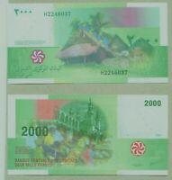 New: COMORES: 2000 Francs Banknote  2005 ( 2020) , P-New Signature, UNC