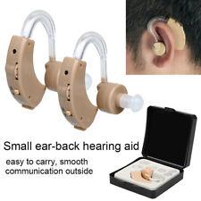 1Pair Digital Hearing Aid Aids Kit Behind the Ear Sound Voice Amplifier Enhancer