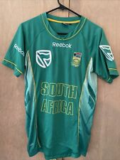 Reebok South Africa Cricket Jersey - Green Mens Small