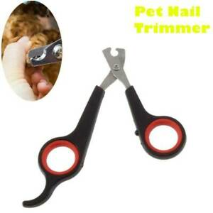 Pet Nail Claw Clippers Dog Cat Rabbit Animal Trimmers Scissors Cutters Tool KY