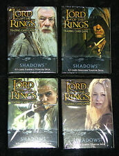LOTR Lord of the Rings tcg SHADOWS complete set incl. all 18 RF FOILS + bonuses