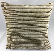 Multi Brown Stripes Evans Lichfield Cushion Cover
