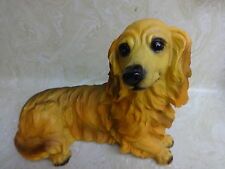 Cocker Spaniel Dog Figurine Resign, Brand New In The Box, Box Not Seald