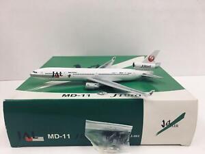 DRAGON WINGS 1:400 Jet Air JBird JAL McDonnell Douglas MD-11 JA8581