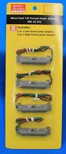 Z Scale - MICRO-TRAINS MTL 990 40 916 Left & Right Turnout Power Adapters 2/ea