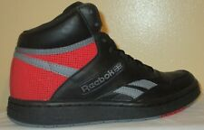 BOY'S REEBOK CLASSIC FV8499 BLACK/CDGRY5/PRIRED SHOES SIZE 7