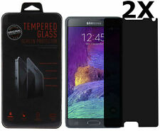 2 X Privacy Anti-Spy Tempered Glass Screen Protector for Samsung Galaxy Note 4