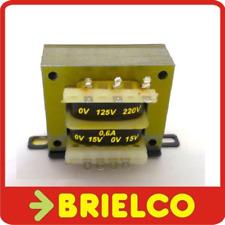TRANSFORMADOR DE ALIMENTACION 220VAC A 2X15V 0.6A 30V 0.4A CHASIS ABIERTO BD8329