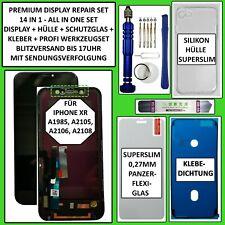 LCD Display für iPhone XR mit RETINA HD Bildschirm Haptic Touch Screen Schwarz