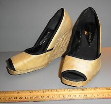 JEAN-MICHEL CAZABAT PLATFORM WEDGE WOMANS SHOES MADE IN SPAIN