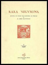 Rara volumina 1996 II Biblioteca Palatina della Reggia di Caserta Fauna italica
