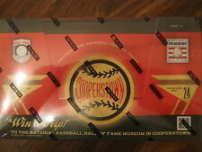 Factory Sealed Hobby Box - 2012 Panini Cooperstown Baseball Cards