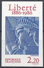 STATUE DE LA LIBERTÉ N°2421 TIMBRE NON DENTELÉ IMPERF 1986 - NEUF ** LUXE MNH