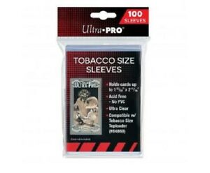 (100) Ultra Pro Mini Tobacco Size Trading Card Sleeves Fits Allen & Ginter T-206