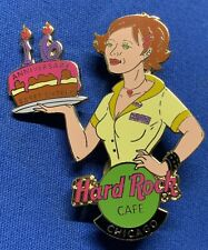 Hard Rock Cafe Chicago 2002 Sweet 16th Anniversary Waitress Cake Le -940 [H]