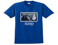 SLEEP JERUSALEM T-SHIRT •OFFICIAL• WEEDIAN BLUE(dopesmoker, high on fire, om)