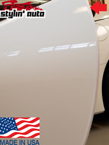 Door Guard Edge Trim (White) Molding Protector Seal Strip for Chevrolet