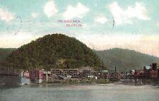 OIl City,Pennsylvania,The Hogs Back,Venango County,Used,Flag Cancel,1909